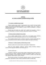 Upute za izradu diplomskog rada - Sveučilište u Dubrovniku