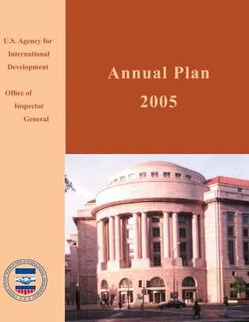 FY05 Annual Plan - US Agency For International Development ...