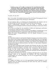 Friedensvertrag von Versailles zwischen den USA, dem Britischen ...