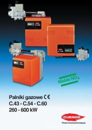 Palniki gazowe C.43-54-60 PDF - ALPAT