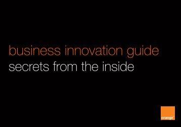 business innovation guide - Orange