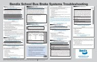 Bendix School Bus Brake Systems Troubleshooting