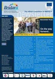 newsletter 3 EN.cdr - Bridge-it - communicationproject.eu