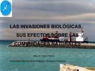 las invasiones biológicas. sus efectos sobre las comunidades ...