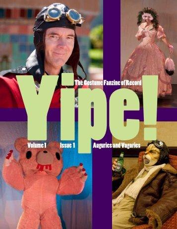 Issue 1.01 (November 2009) - Yipe!