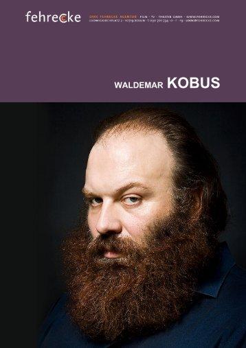 WALDEMAR KOBUS - Fehrecke
