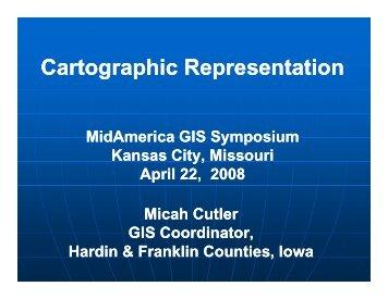 View Presentation (PDF) - MidAmerica GIS Consortium