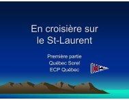 En croisière sur le St-Laurent - NautiPneu