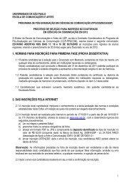 UNIVERSIDADE DE SÃO PAULO - ECA-USP