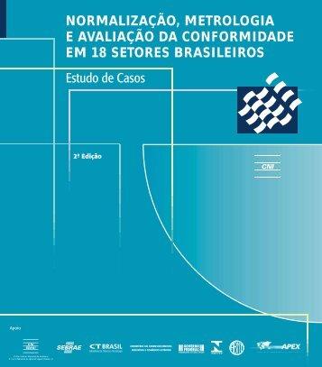 Normalização, metrologia e avaliação da conformidade em 18 - CNI