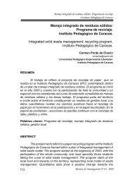 Manejo integrado de residuos sólidos: Programa de ... - SciELO