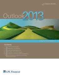 Outlook 2013 - LPL Financial
