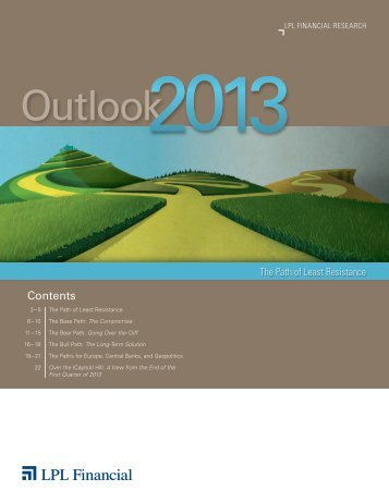 Outlook 2013 - LPL Financial