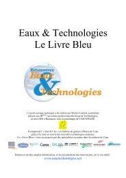 Eaux & Technologies Le Livre Bleu - Ascomade