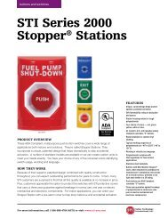 STI Series 2000 Stopper® Stations - ThomasNet