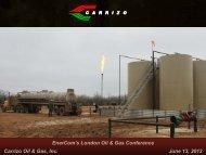 Nasdaq: CRZO - Carrizo Oil & Gas, Inc