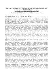 Zpráva o průběhu přijímacího řízení pro akademický rok 2008/2009 ...