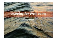 Learning for Well-being - European Institute of Education and Social ...