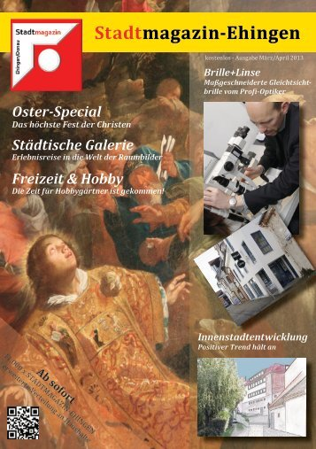 Ostern - Stadtmagazin Ehingen