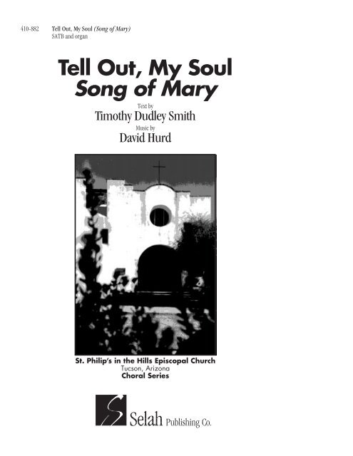 tell out my soul song of mary selah publishing co inc yumpu