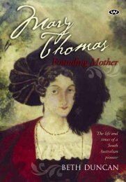 Mary Thomas: Founding Mother extract - Wakefield Press