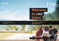 Open Day programme - The University of Nottingham, Malaysia ...