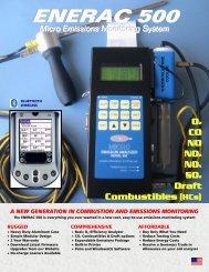 Enerac 500 Brochure - Net Zero Tools