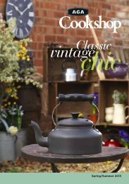 Aga Cook Shop Collection Summer 2012 Brochure - The AGA Shop ...