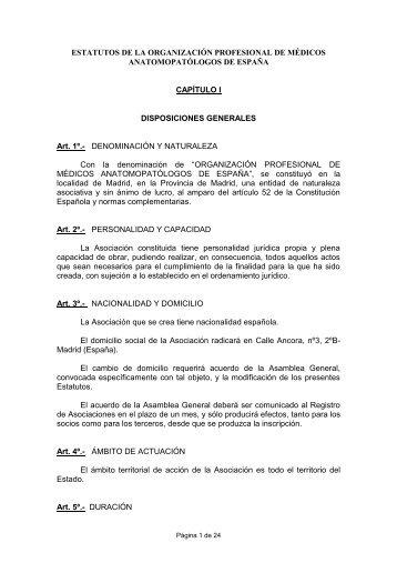 borrador de los estatutos - Pathos.es