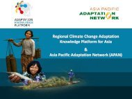 Roopa Rakshit - Regional Climate Change Adaptation Knowledge ...