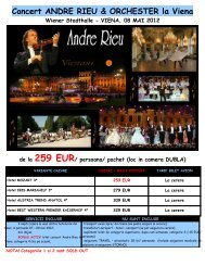 VIENA, 08 MAI 2012 de la 259 EUR - Activ Tours ERP