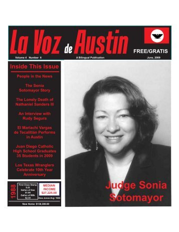 La Voz de Austin June 2009 - La Voz Newspapers