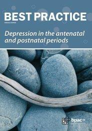 Depression in the antenatal and postnatal periods - Bpac.org.nz