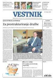 Za prestrukturiranje družbe - Pomurje.si