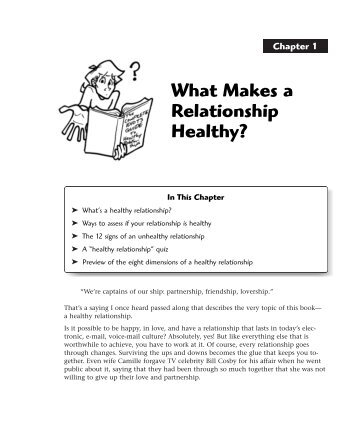 guide to a healthy relationship pdf
