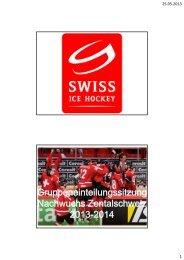 Swiss Ice Hockey Federation Nachwuchs und ... - Argovia Stars