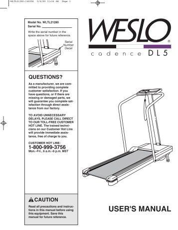 life fitness 95ti service manual