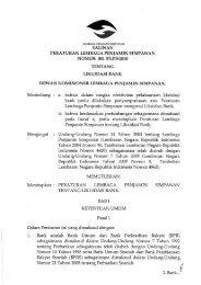 PLPS No 1 Th 2010 tentang Likuidasi Bank - Lembaga Penjamin ...