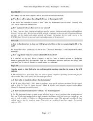 Notes from Single Points of Contact Meeting #3 – 01/19/2012 Page ...