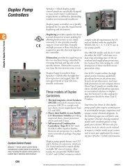 Duplex Pump Controllers - E-Catalog - Sprecher + Schuh