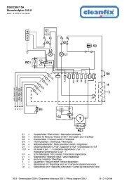 DS8/230V/15A Stromlaufplan 230 V