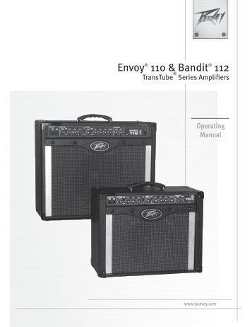 Envoy® 110 & Bandit® 112 - Peavey