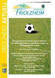 Das Jugendhaus Friolzheim wird zur EM 2012 die ...