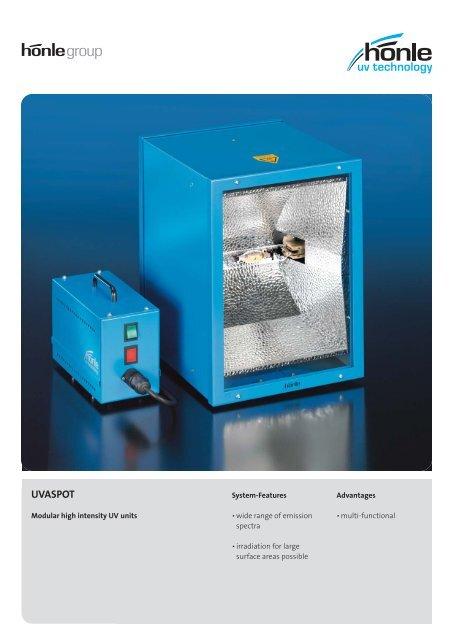 Product information UVASPOT - Dr. Hönle AG