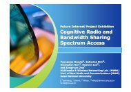 Cognitive Radio and Bandwidth Sharing Spectrum Access