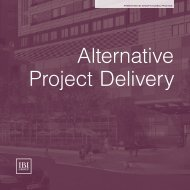 Alternative Project Delivery - IBI Group