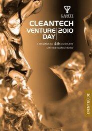 cleantech venture 2010 day