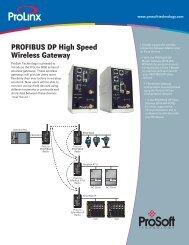 PROFIBUS DP High Speed Wireless Gateway