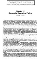 Chapter 11 Composite Electroless Plating