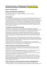 (5 Seiten), Stand 13. November 2007, PDF, 50 KB - BUND ...